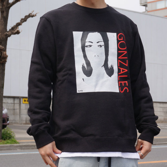 SALE セール MARK GONZALES マークゴンザレス FACE CREW SWEAT 2G7-4318 【#SafeAtHome】
