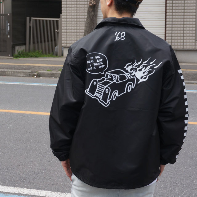 MARK GONZALES マークゴンザレス GONZ SPEED COACH JACKET 2G5-4913