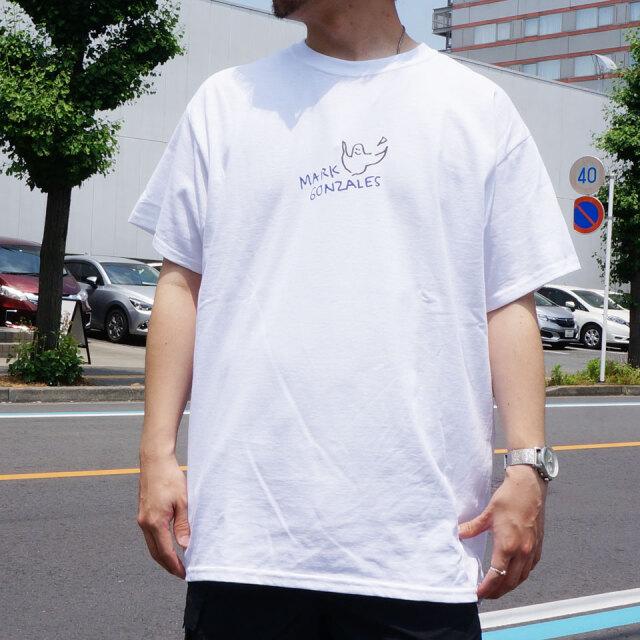 SALE セール MARK GONZALES マークゴンザレス Tシャツ REFLECTER PRINT S/S Tee ホワイト 2G7-0358