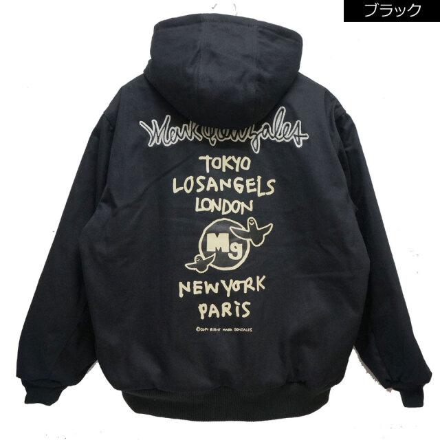 全2色 マークゴンザレス MARK GONZALES ワークジャケット アクティブジャケット ACTIVE JACKET 中綿 ブラック ブラウン 2G5-61926