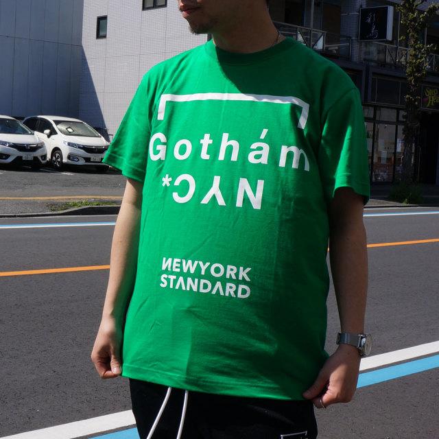 ゴッサム GOTHAM NYC Tシャツ GOTHAM NYC S/S Tee グリーン GN601