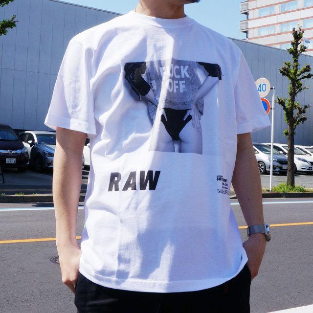SALE セール ゴッサム GOTHAM NYC Tシャツ RAW S/S Tee ホワイト ブラック GN611