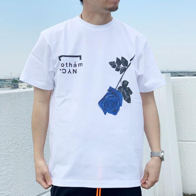 全2色 ゴッサム GOTHAM NYC Tシャツ ROSE S/S Tee ホワイト ベージュ GN807