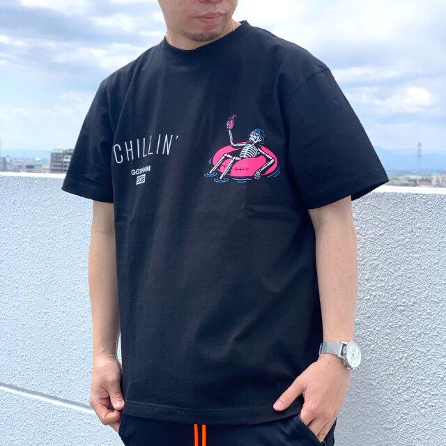 ゴッサム GOTHAM NYC Tシャツ CHILLIN' S/S Tee ブラック GN824