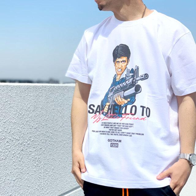 ゴッサム GOTHAM NYC Tシャツ TONY S/S Tee ホワイト GN825