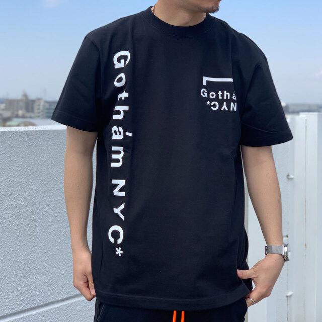 全2色 ゴッサム GOTHAM NYC Tシャツ GOTHAM NYC LOGO S/S Tee ホワイト ブラック GN832