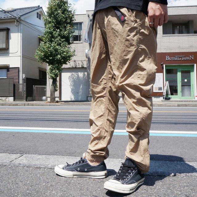 全2色 グラミチ GRAMICCI ナイロンパンツ PACKABLE TRUCK PANTS 2052-KNJ クライミングパンツ ブラック ベージュ