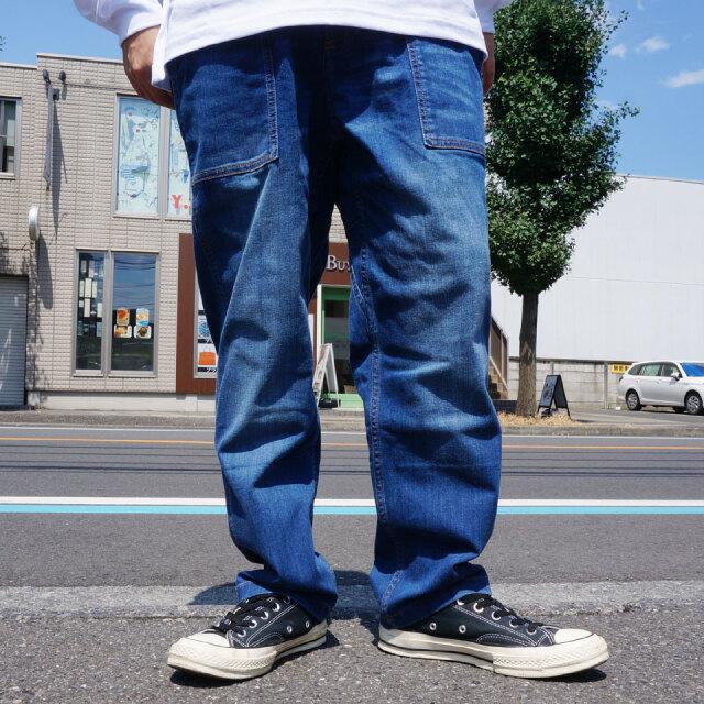 グラミチ GRAMICCI デニムルーズテーパードパンツ DENIM LOOSE TAPERED PANTS クライミングパンツ デニム 2002-DFJ