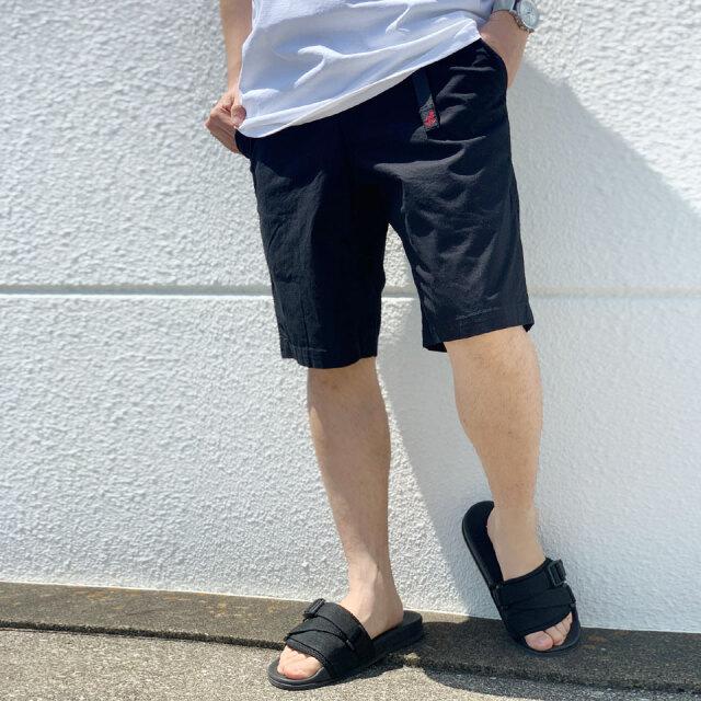 全3色 グラミチ GRAMICCI ショーツ WEATHER ST SHORTS ショートパンツ ブラック タン ベージュ カーキ ダークグリーン GMP-21S020