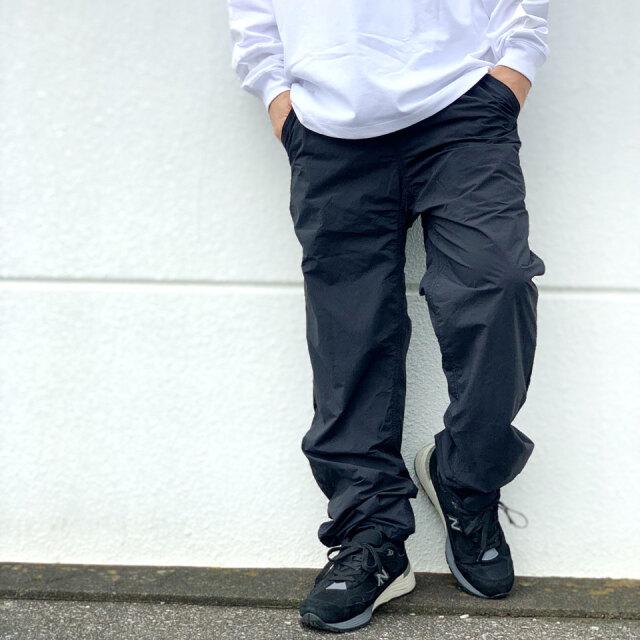 グラミチ GRAMICCI ナイロンパンツ LIGHT NYLON GRAMICCI PANTS グラミチパンツ GUP-21F037 ブラック