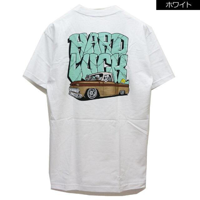全2色 HARD LUCK ハードラック LIL SLEEPY S/S Tee Tシャツ ホワイト ブラック