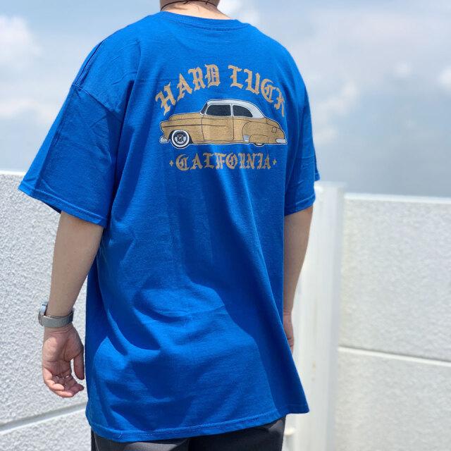 全2色 ハードラック HARD LUCK Tシャツ LOWRIDE CA S/S Tee 半袖 ローライダー アメ車 ブラック ロイヤルブルー