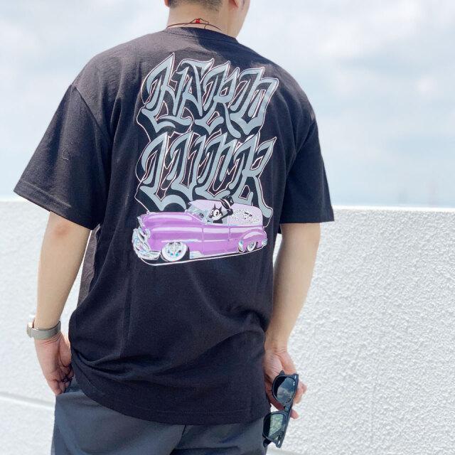 ハードラック HARD LUCK Tシャツ SPECIAL DELIVERY S/S Tee ブラック
