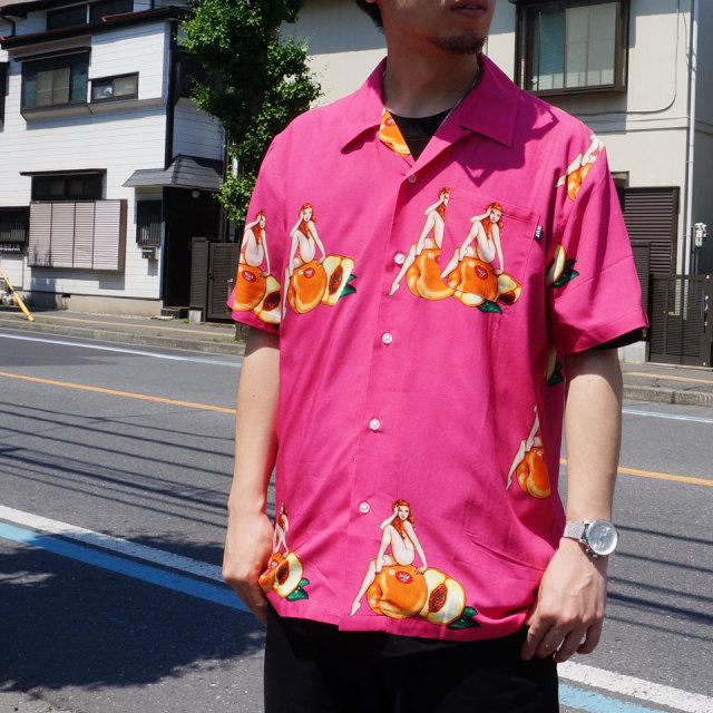 HUF ハフ アロハシャツ PEACHY S/S WOVEN SHIRT