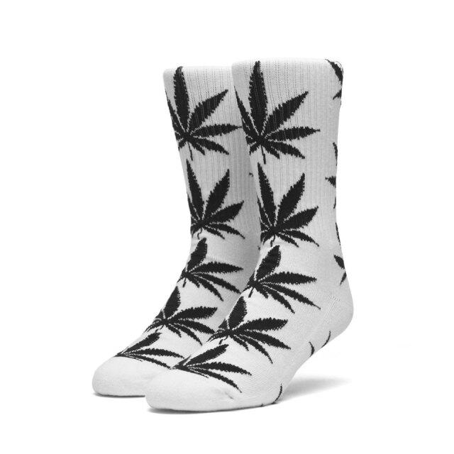 全2色 HUF ハフ ソックス 靴下 PLANT LIFE CREW SOCKS ホワイト ブラック