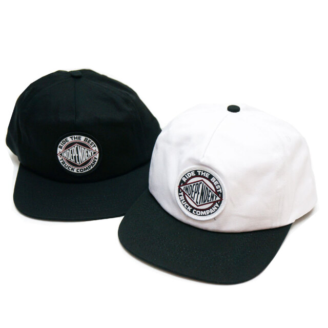 全2色 インディペンデントトラックス INDEPENDENT TRUCKS スナップバック BTG SUMMIT SNAPBACK 帽子 キャップ ブラック ホワイト