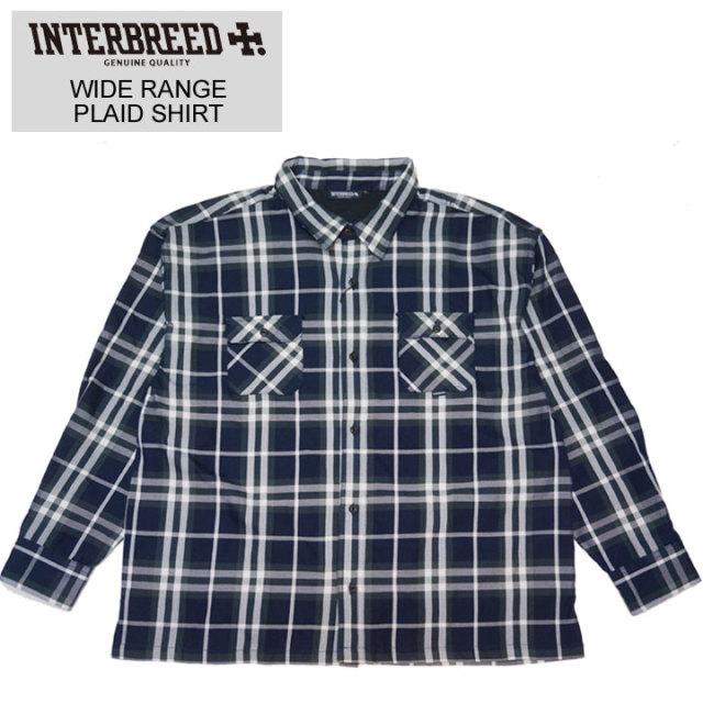 INTERBREEDのシャツ