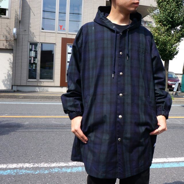 INTERBREED インターブリード コート HOODED DAILY COAT - BLACK WATCH