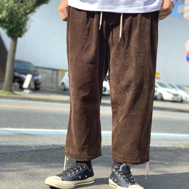 INTERBREED インターブリード コーデュロイ CORDUROY COMFY CARGO PANTS - ブラウン