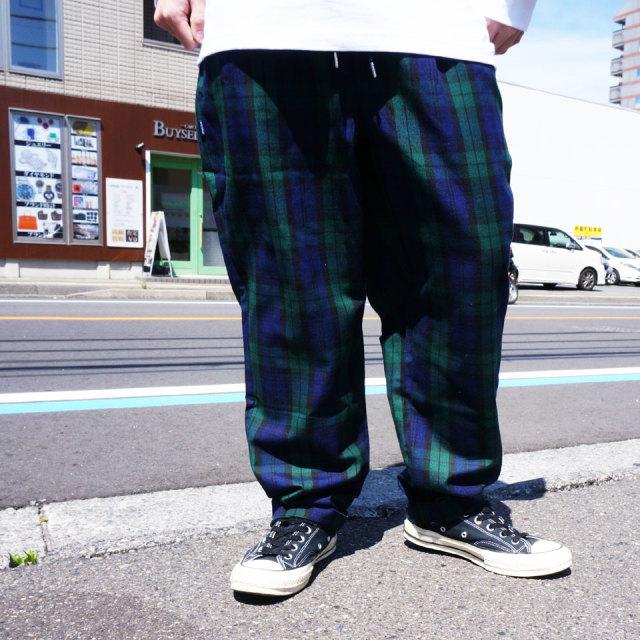 INTERBREED インターブリード パジャマパンツ PATTERNED PAJAMA PANTS チェックパンツ ブラックウォッチ ヒッコリー
