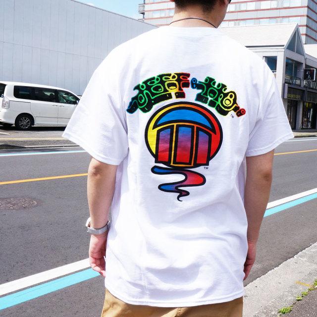 全2色 ジェフホー JEFF HO Tシャツ GRADATION LOGO S/S Tee ブラック ホワイト 半袖