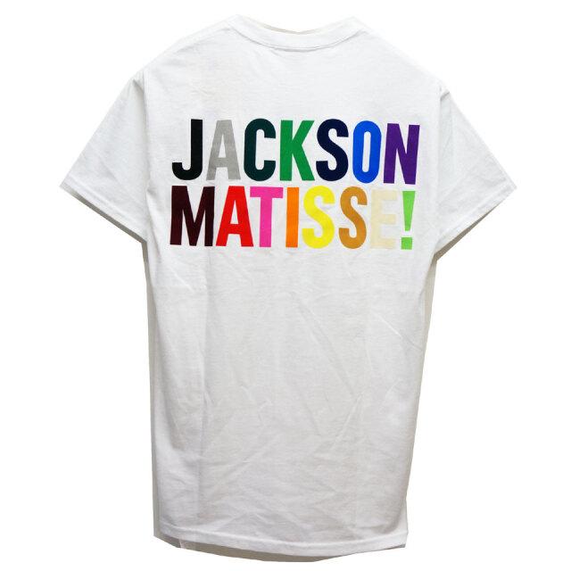 全2色 ジャクソンマティス JACKSON MATISSE Tシャツ MULTI LOGO S/S POCKET Tee ポケットTシャツ バックプリント ホワイト 白 ブラック 黒
