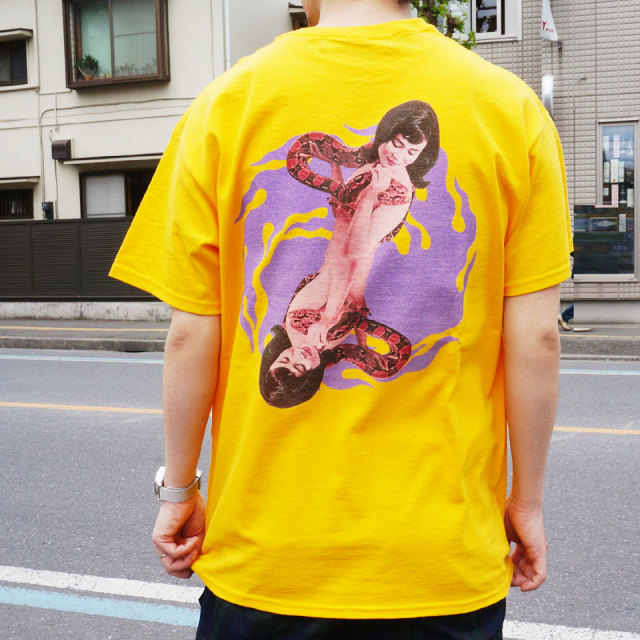 LONELY論理 ロンリー Tシャツ HEBI GIRL S/S Tee