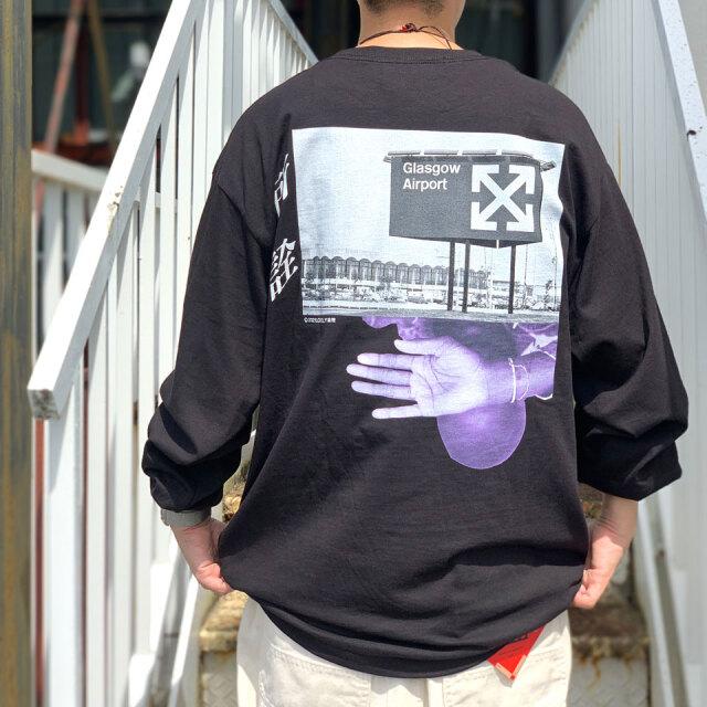 全2色 LONELY論理 ロンリー LONELY ロンT Tシャツ ANTI V.A L/S Tee ホワイト ブラック 白 黒 #20コレクション