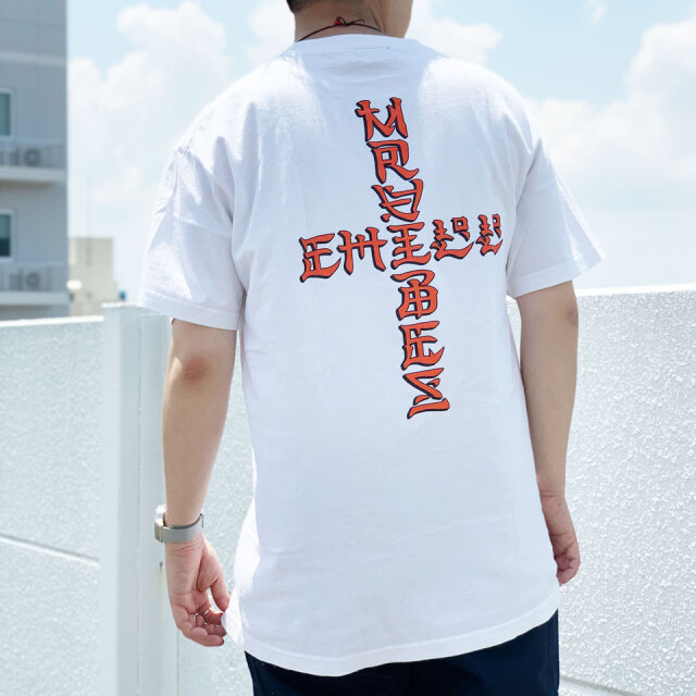 MRV by Mr.vibes Tシャツ ANIMAL CHILL S/S Tee 半袖 オリジナル ホワイト