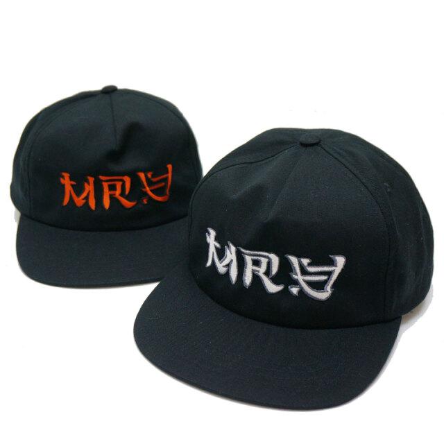 全2色 MRV by Mr.vibes ミスターバイブス オリジナル キャップ ANIMAL CHILL CAP 帽子 スナップバック ブラック