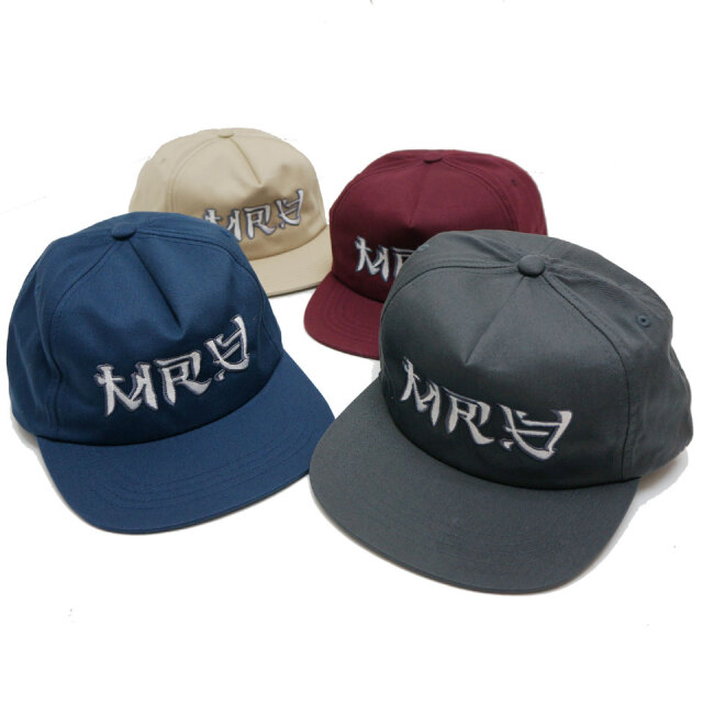 全4色 MRV by Mr.vibes ミスターバイブス オリジナル キャップ ANIMAL CHILL CAP 帽子 スナップバック ベージュ ネイビー バーガンディー チャコール