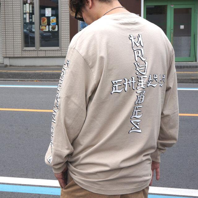 全4色 MRV by Mr.vibes ミスターバイブス オリジナル ロンT Tシャツ LOCALS ONLY L/S Tee アッシュグレー ブラック ベージュ イエロー