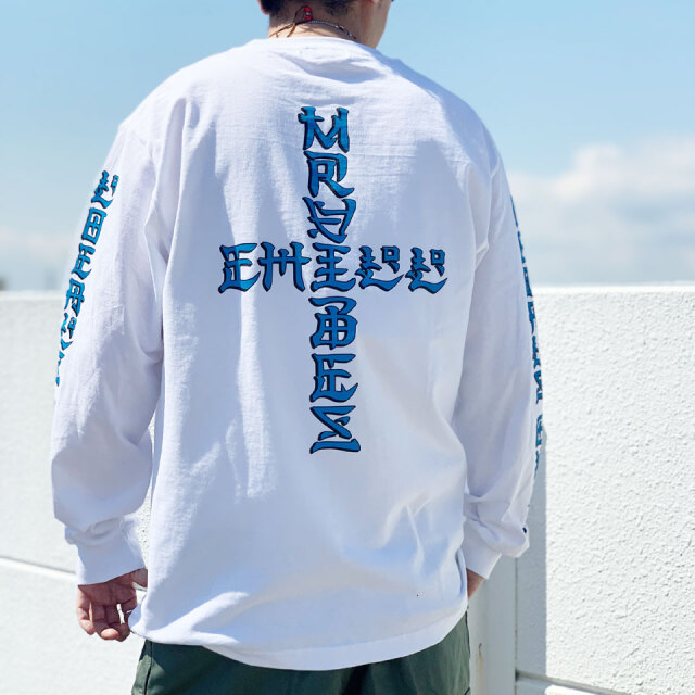 MRV by Mr.vibes ミスターバイブス オリジナル ロンT Tシャツ LOCALS ONLY L/S Tee