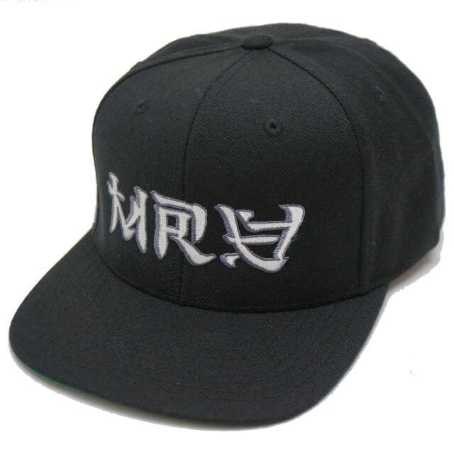 MRV by Mr.vibes ミスターバイブス オリジナル キャップ ANIMAL CHILL 6PANEL SNAPBACK CAP 帽子 スナップバック ブラック
