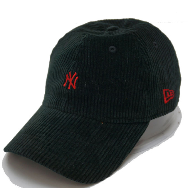NEW ERA ニューエラ キャップ 9THIRTY CORDUROY NY - BLACK