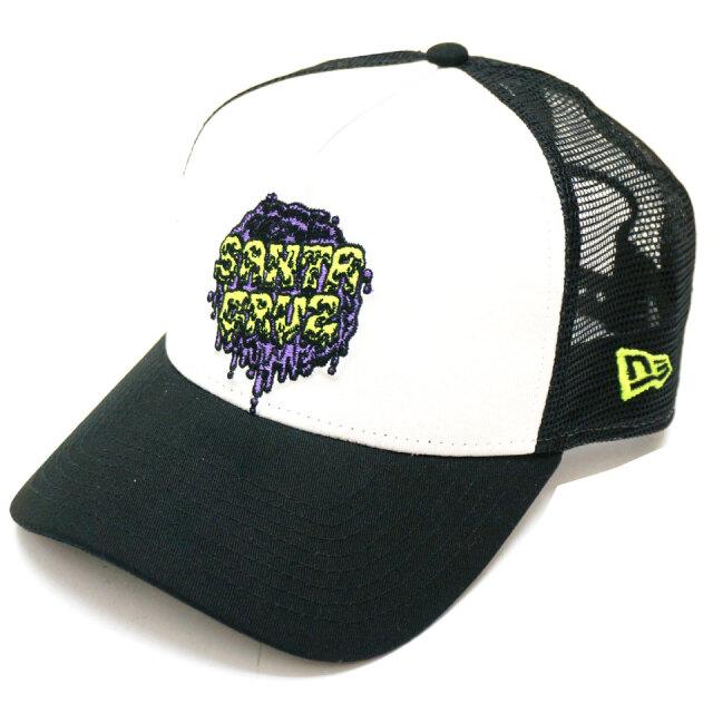 NEW ERA ニューエラ メッシュキャップ 9FORTY A-FRAME SANTA CRUZ 帽子 キャップ ブラック