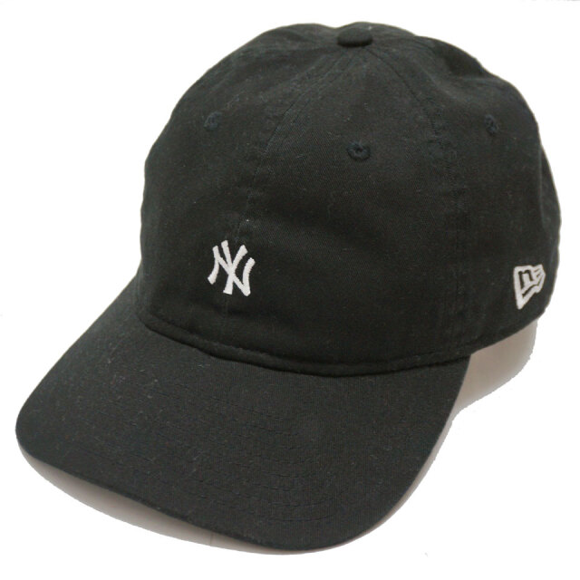 NEW ERA ニューエラ ローキャップ 9THIRTY PACKABLE MINI NY CAP ヤンキース ブラック