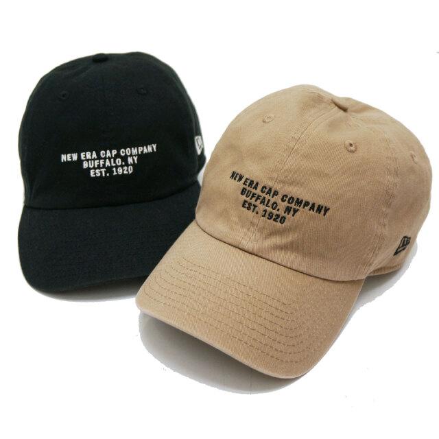 全2色 NEW ERA ニューエラ ローキャップ CASUAL CLASSIC STRAP CAP ブラック カーキ