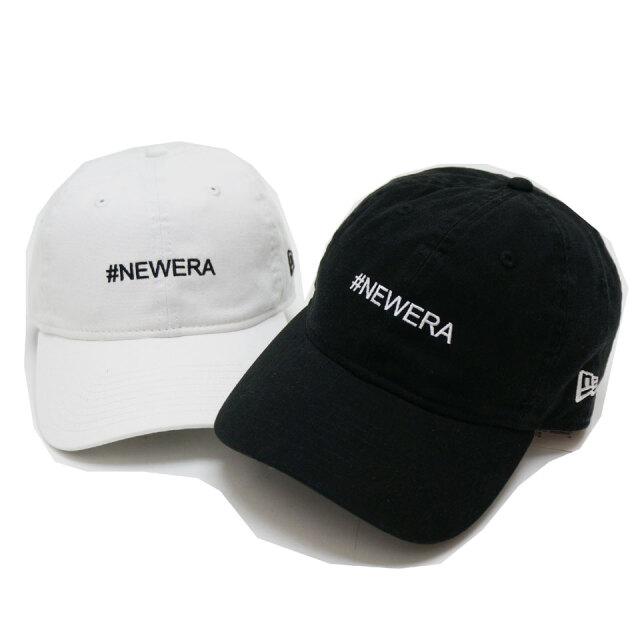 全2色 NEW ERA ニューエラ ローキャップ 9THIRTY HASH TAG CAP ブラック ホワイト