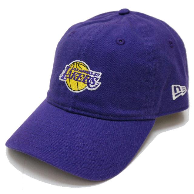 NEW ERA ニューエラ ローキャップ 9THIRTY NBA LAKERS MINI LOGO CAP キャップ 帽子 パープル