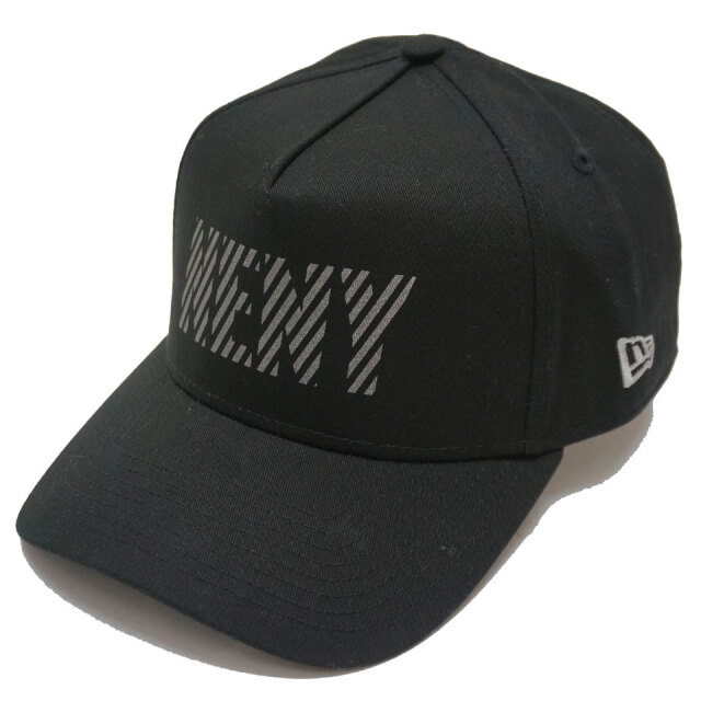 NEW ERA ニューエラ キャップ 9FORTY A-FRAME REFLECTER NENY CAP キャップ 帽子 ブラック