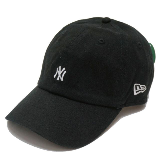 NEW ERA ニューエラ ローキャップ CASUAL CLASSIC NY YANKEES MINI LOGO CAP ブラック