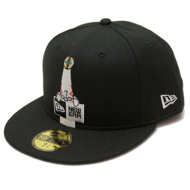 ニューエラ NEW ERA キャップ 59FIFTY FITTED CAP Taro Okamoto 岡本太郎 太陽の塔 ブラック