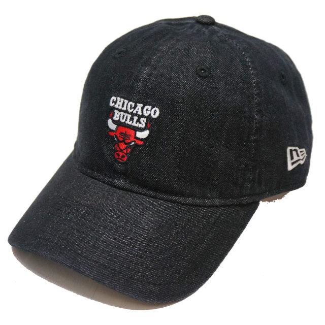 ニューエラ NEW ERA ローキャップ 9THIRTY NBA CHICAGO BULLS CAP キャップ 帽子 ブラック