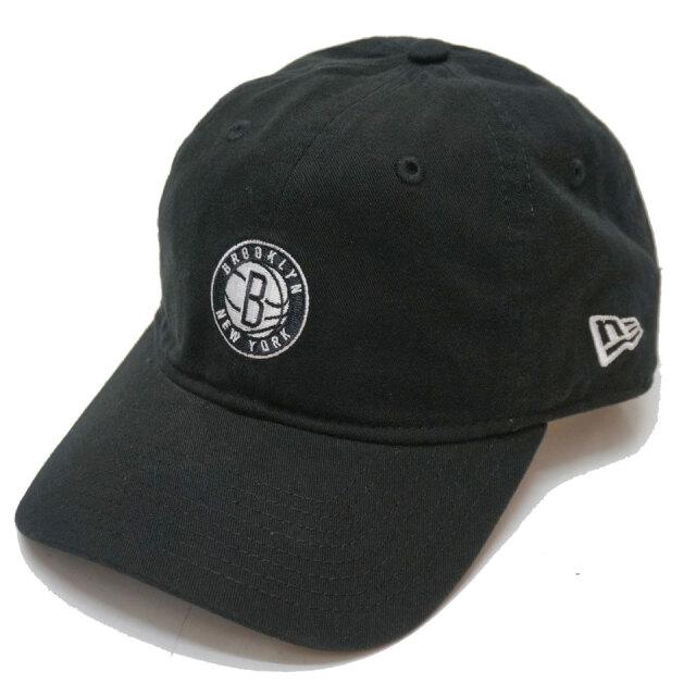 ニューエラ NEW ERA ローキャップ 9THIRTY NBA BROOKLYN NETS CAP キャップ 帽子 ブラック