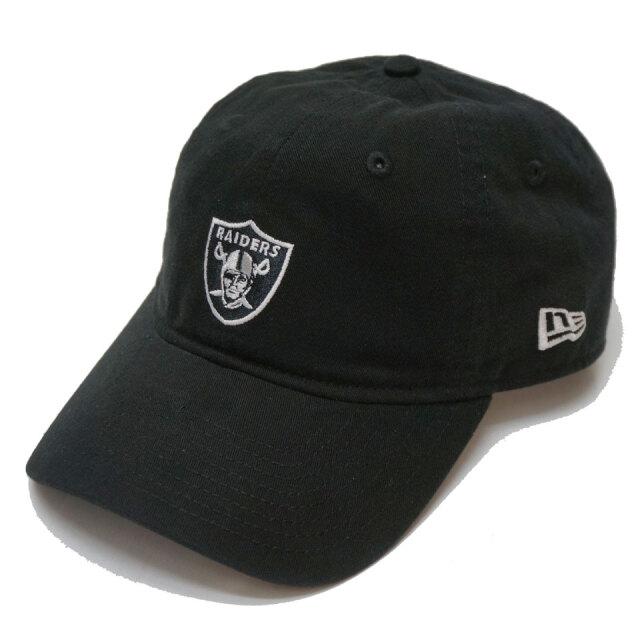 ニューエラ NEW ERA ローキャップ 9THIRTY NFL RAIDERS CAP キャップ 帽子 ブラック