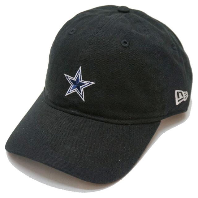 ニューエラ NEW ERA ローキャップ 9THIRTY NFL COWBOYS CAP キャップ 帽子 ブラック