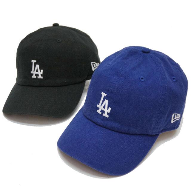 ニューエラ NEW ERA ローキャップ CASUAL CLASSIC LA DODGERS CAP キャップ 帽子 ロサンゼルス ドジャース ブラック ロイヤ
