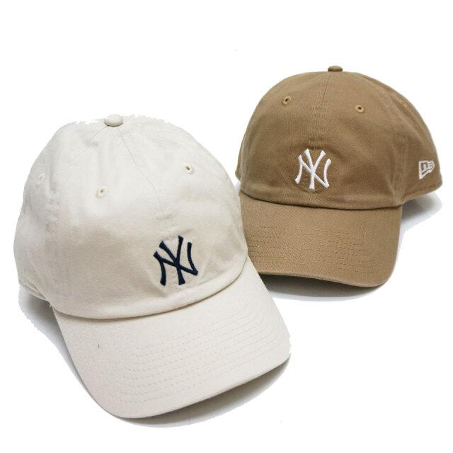 ニューエラ NEW ERA ローキャップ CASUAL CLASSIC NY YANKEES CAP キャップ 帽子 ニューヨークヤンキース カーキ ストーン