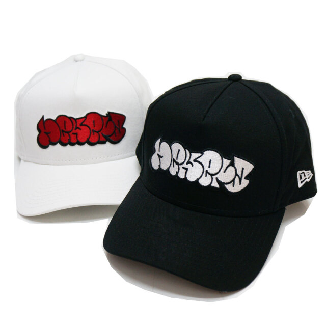ニューエラ NEW ERA キャップ 9FORTY A-FRAME GRAFITTI LOGO CAP グラフィティ ブラック ホワイト